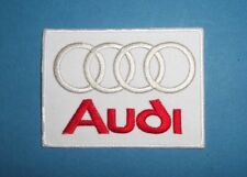`AUDI`SEW OR IRON ON PATCH