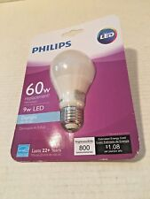 Philips 9W LED - 60W Equivalent Daylight Dimmable Light Bulb