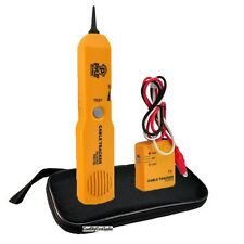 NEW Pyle Telephone Wire Cable Tester For Testing Continuity W/ Sender & Receiver