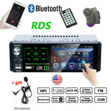 4.1 Inch HD Touch Screen Car Radio Single 1Din MP3 MP5 Player FM AM RDS AUX USB