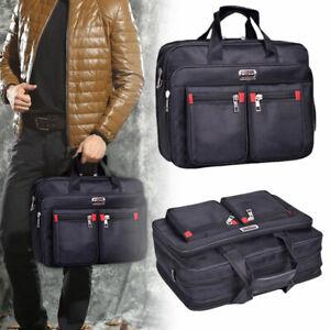 Mens Casual Messenger Bag Briefcase Work Office Handbag Business Laptop Bag UK