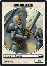 4X 1/1 White Soldier TOKEN (2/7) NM Core Set M12 Magic 2012 MTG Throne of Empire