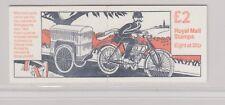 GB  FOLDED STAMP BOOKLET 1993 Postal Vehicles   CYLINDER NUMBER  (3 x £2) SG FW1