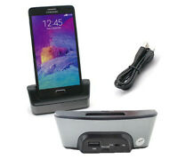 Battery Dock Charger with USB OTG Cradle Holder For Samsung Galaxy Note 4 N9100