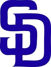 "San Diego Padres MLB Decal ""Sticker"" for Car or Truck or Laptop"