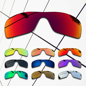TRUE POLARIZED Replacement Lenses for-Oakley Batwolf Frame OO9101 Multi-Colors