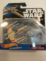 New Hot Wheels Star Wars X-Wing Fighter Red 5 Die Cast 2014 Mattel NIP