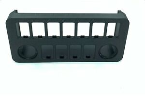 Jeep Wrangler TJ - LJ Switch Panel Fits 11 OEM Switches