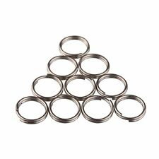 TI-EDC 10pcs Titanium Small Split Rings (12mm)