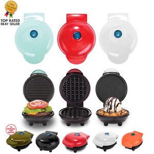 350W Mini Waffle Maker Machine for Individual Waffles, Paninis AU Plug
