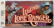 "VINTAGE MILTON BRADLEY ""THE LEGEND OF THE LONE RANGER"" BOARD GAME 1980 OLD WEST"