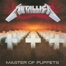 Metallica - Master of Puppets - New Remastered CD Album