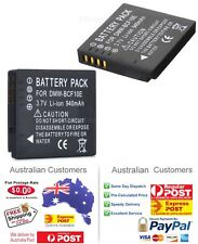 DMW-BCF10E Battery for Panasonic Lumix DMC-FT1 DMC-FT2 DMC-FT3 DMC-FT4 / AU