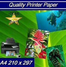 240 GSM a4 Gloss Carta Stampante a 2 x 500 Fogli-LASER-digitale-Craft