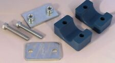 Hydraulic Pipe Clamp Stauff Style, Solid Body, Single 6 mm to 54 mm