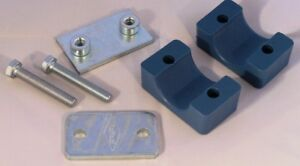 Hydraulic Pipe Clamp Stauff Style, Solid Body, Single 6 mm to 54 mm, Solid Body