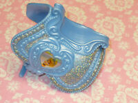 Disney Fashion Barbie Doll CINDERELLA REPLACEMENT SADDLE for HORSE 2007 Mattel