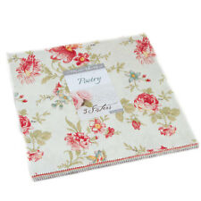 """Moda FABRIC Layer Cake ~ POETRY ~ by 3 Sister's 42 - 10"""" squares"""