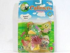 CALIMERO-PAPERO PIERO-GIOCHI PREZIOSI 1996 CM 10,5-IN PLASTICA DURA-NUOVO