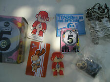 Qee Toy2r Key Chain Series 5c Ernesto Rodriguez Mico Orange Monkey
