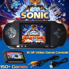 16 bit New Portable Video Game Handheld Console 150 Games Retro Megadrive PXP