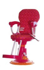 "Girl Friends American Beauty Salon Hair Stylist Chair for 18"" Doll Pink Toy NEW"