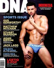 DNA Magazine #220 gay men Sports Issue OLEKSANDRE KALINOVSKYI ANDREW CORVIN