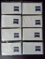 "Original ZEISS Lens Cleaning Microfiber Cloths Optical computer 7"" x 6"" lot of 8"