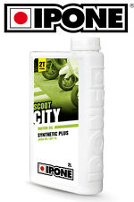 Huile IPONE SCOOT CITY Oil 2L scooter scoot Booster Spirit Ovetto Stunt Aerox 2T