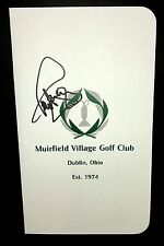 Paul Azinger Signed Muirfield Village Golf Scorecard 1993 Memorial Champion COA