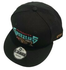 Men's New Era Black Vancouver Grizzlies HWC Nights Adjustable Snapback Hat Cap