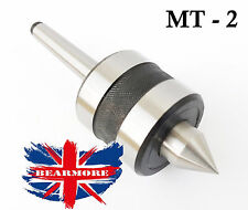 MT2 Precision Center Morse Taper Bearing Lathe Turning Heavy Duty Industrial Use