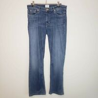 Hudson Elle Midrise Baby Boot Cut Jeans Size 29 Womens Denim Blue Casual