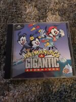 Vintage Animaniacs A Gigantic Adventure PC Animated Cartoon Retro Game RARE