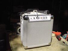 ion Block Rocker Portable iPod Dock, Guitar Amp, PA Amp w Microphone