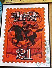 The Black Keys Concert Poster Reprint for 2014 Kansas City KS 14x10 Unsigned