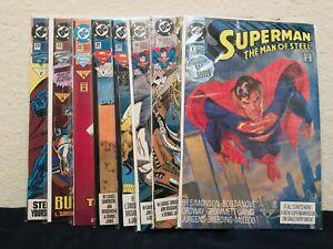 DC Comics Superman Man of Steel (41 Comic Lot)