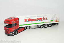 TEKNO SCANIA R440 R 440 TRUCK WITH FRIDGE TRAILER WEZENBERG NEAR MINT CONDITION