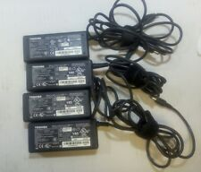 - 4x TOSHIBA AC/DC Adapter  PA3377E-2ACA   15V  4A