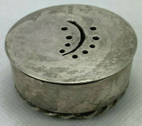 .925 Sterling Silver Spice Box