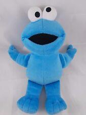 "Fisher Price Sesame Street Cookie Monster Plush 12"" Cloth Eyes"