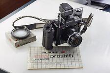 Plaubel proshift 69 W, con Schneider super-angulon 5,6/47 + Center filtro