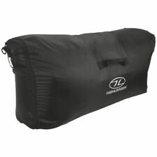 HIGHLANDER 40-100L RUCKSACK TRANSIT COVER WATERPROOF SECURITY LUGGAGE BAG BLACK