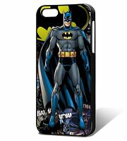 Batman Comic Phone Case Cover, Fits iPhone 4/4s 5/5s, 5c SE, 6, 6plus, 7, 7plus