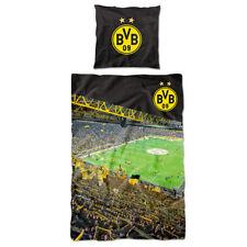 BVB Borussia Dortmund  Bettwäsche SÜDTRIBÜNE 135x200 cm 100 % Baumwolle