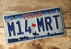 USA Nummernschild/Kennzeichen/license plate/US car/Harley/Deco * Texas *