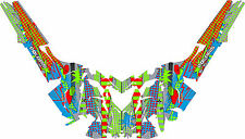 2016 POLARIS RUSH axys pro rmx 600/800 SNOWMOBILE SLED WRAP DECALS Madness