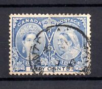 Canada 1897 50c Jubilee fine CDS used SG134 WS21074