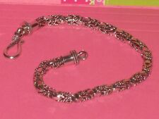"""Sterling Silver Detailed Bracelet 18 Grams !!!  Gorgeous New in Box  7.75"""" Long"""