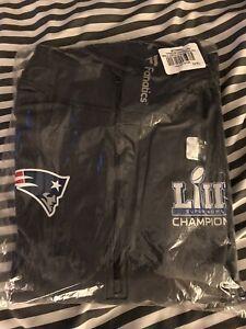 New England Patroits  Super Bowl 53 Champions XL Quarter-Zip  Pullover Jacket